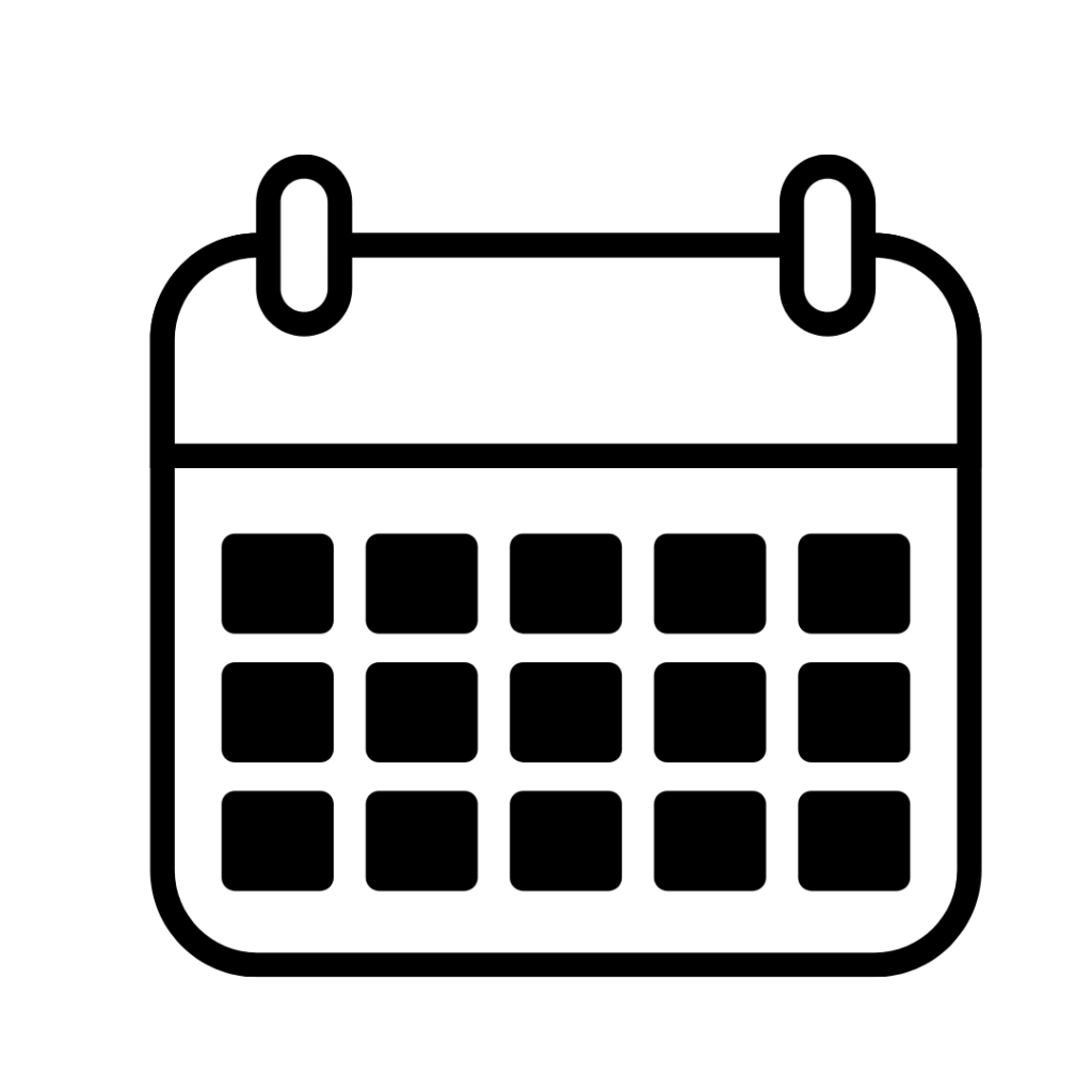 Programme Dates